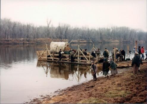 Raft across the Mississippi
