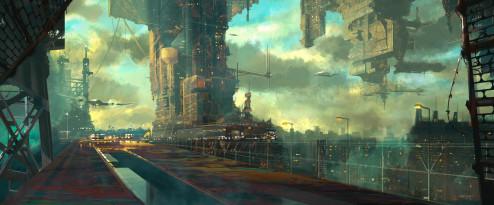 Concept Art: City